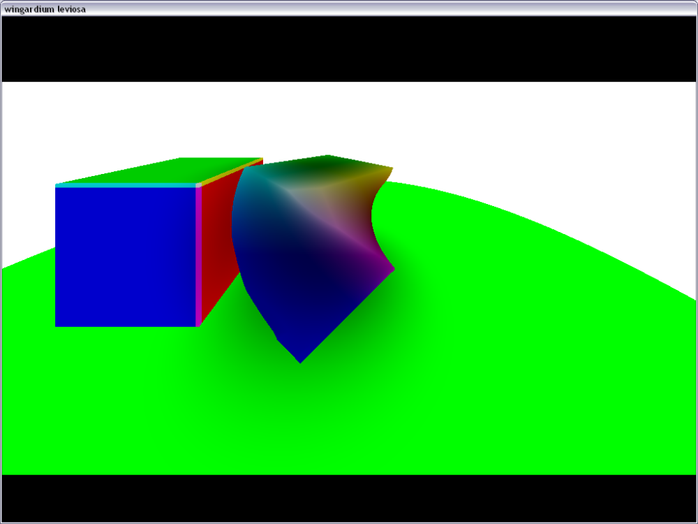 Ray marching with Distance field. (2/5)